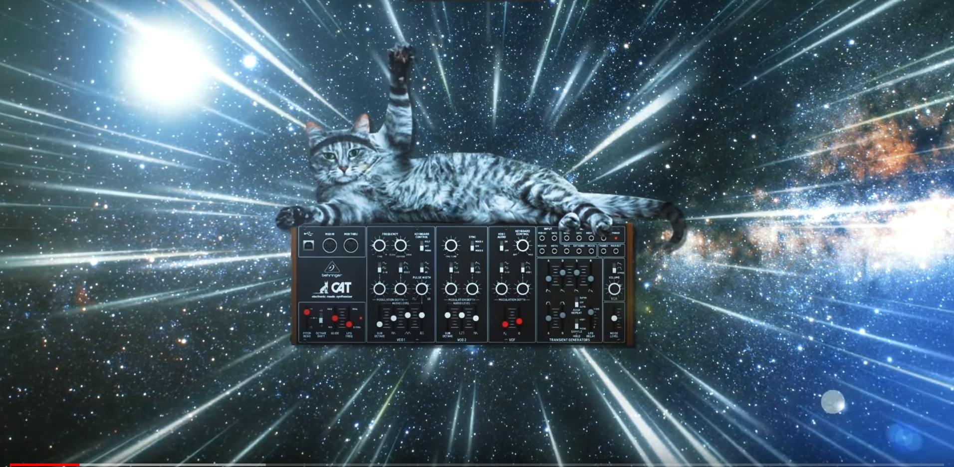 Behringer Cat Synthesizer Clone