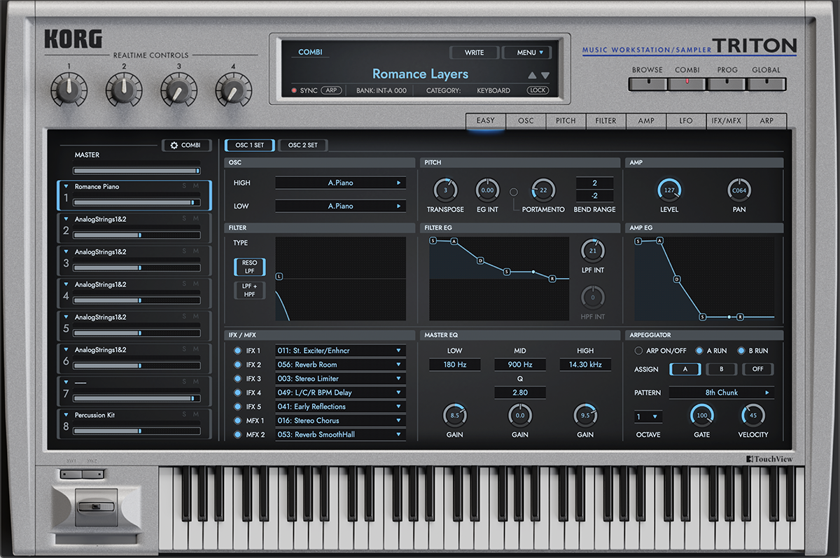 Korg Triton VST Mac PC