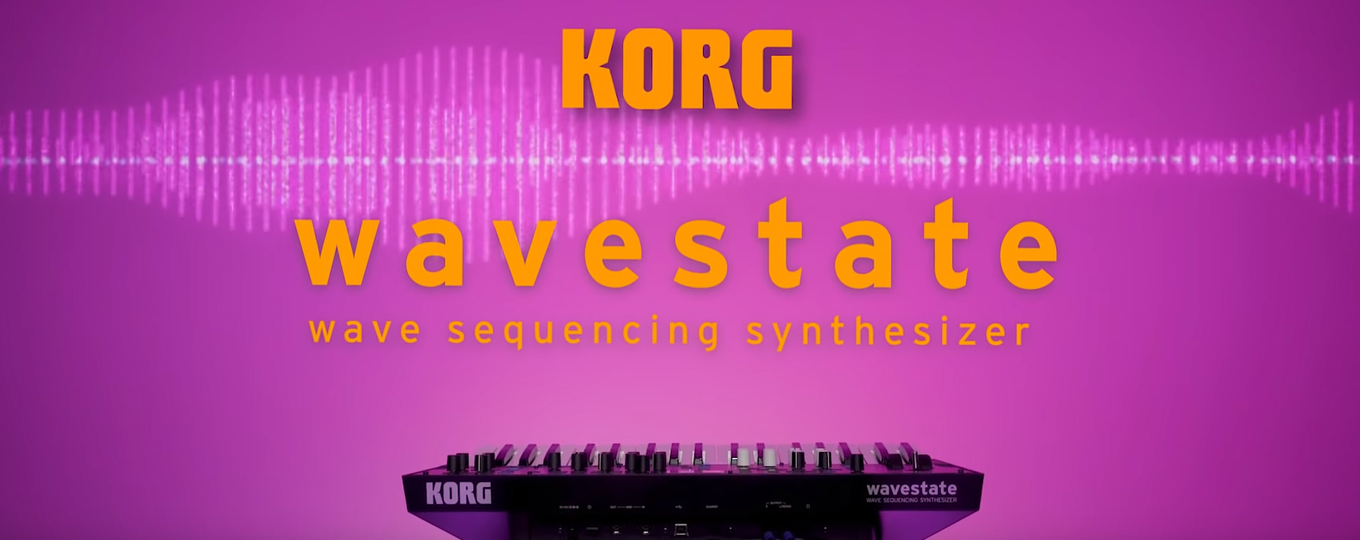 Korg Wavestate Synth Wavestation Roboot