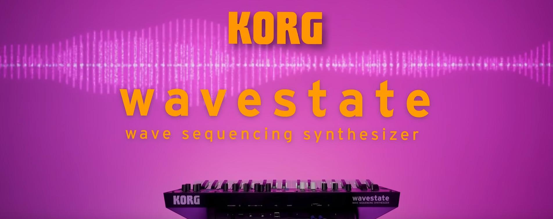 Korg Wavestate Synth Wavestation Roboot